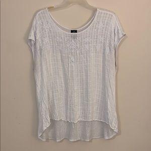 Bobeau white blouse